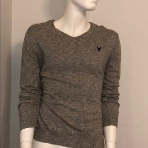 American Eagle Outfitters Heather Gray Sweater